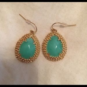 Turquoise Lilly Pulitzer Earrings
